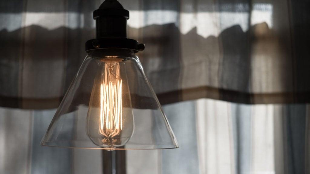 A light.